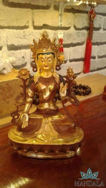 Tôn tượng Tara Bạch Độ Mẫu ( nepal) 33cm