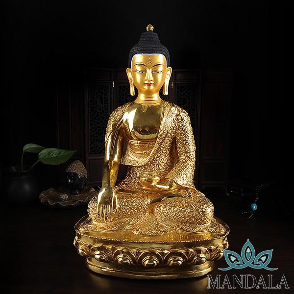Tôn tượng Đức Bổn Sư Thích Ca ( 33cm - Nepal)