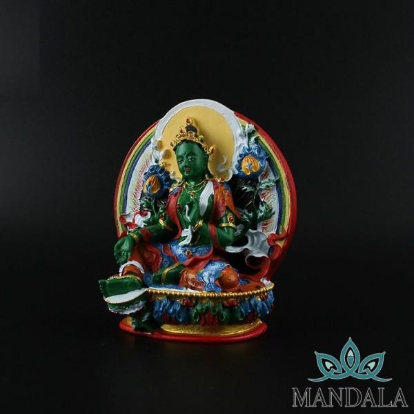 Tôn tượng Tara lục độ mẫu 11,5cm