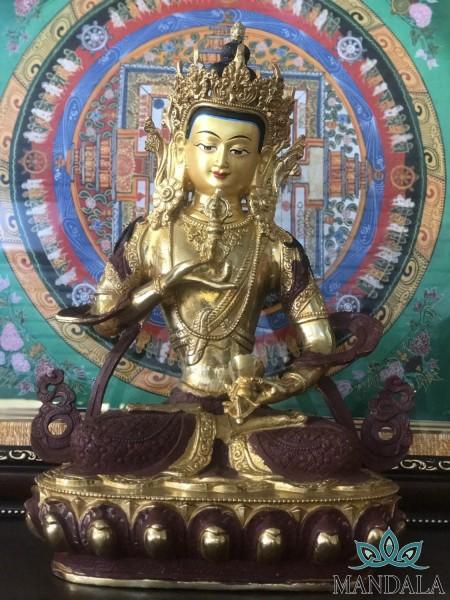 Tôn tượng Kim Cang Tát Đỏa 33cm Nepal