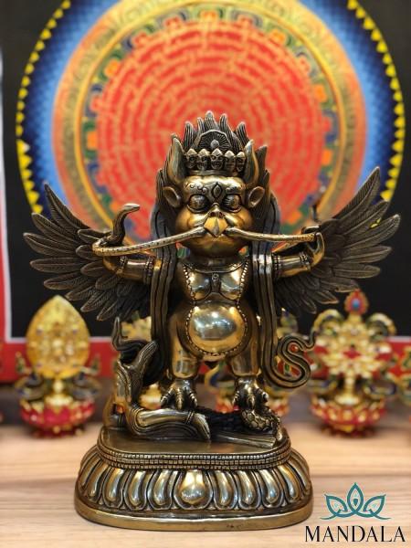 Tôn Tượng Kim Sí Điểu 22cm (Nepal)