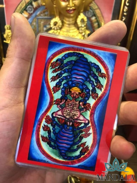 ☘️Amulet Bọ Cạp 9 Đuôi ( Amulet do Đức Liên Hoa Sinh để lại)