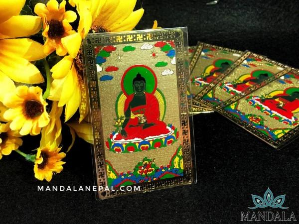 Kim Bài Phật Dược Sư - Tu viện Ta'er