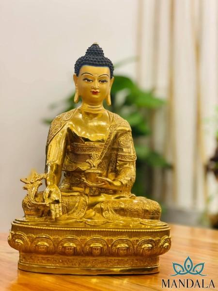 Tôn tượng dược sư 33cm Tây Tạng