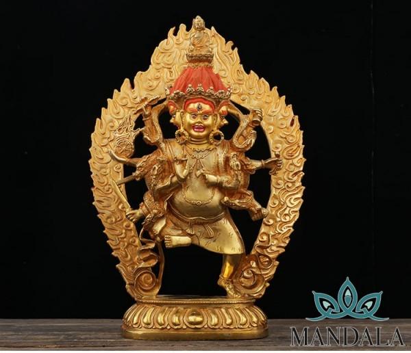 Tôn tượng Uế Tích Kim Cang Vàng 30cm